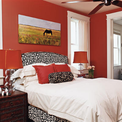 41 Fantastic Red and Black Bedrooms  InteriorCharm
