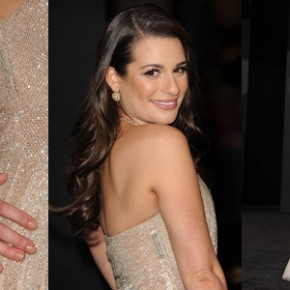 lea michele wearing a valentino dress at the new years eve premiere 290x290 Подбираем новогодний гардероб
