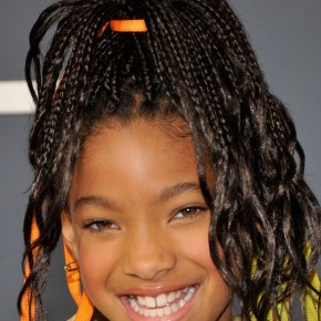 willow smith hairstyle 2011Grammy Awards 290x290 Новогодняя прическа