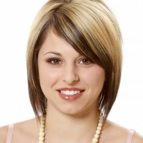 Short Hairstyles for Round Faces 2 290x290 Стрижки для круглого лица